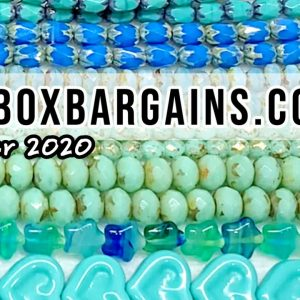 Bead Box Bargains DIY Jewelry Making Haul | December 2020