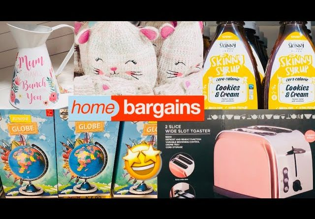 WHAT'S NEW IN HOME BARGAINS 2021‼️ COME SHOP WITH ME AT HOME BARGAINS #JANUARY2021 | HOME BARGAINS