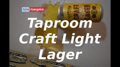 Home Bargains Taproom Craft Light Lager