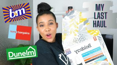 B&M, Home Bargains, Dunelm and Tesco Haul || My Last Haul Before No Spend January