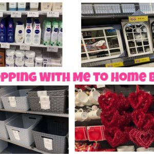 Come Shopping With Me to Home Bargains - January 2020 Vlog- Day In My Life