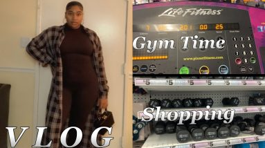VLOG | A little gym time | Finding bargains on exercise equipment and workout gear 🏋🏽‍♀️