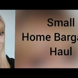 Very small Home Bargains haul #homebargains #haul #homebargainshaul